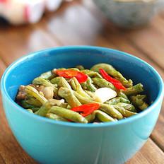 干锅豇豆的做法