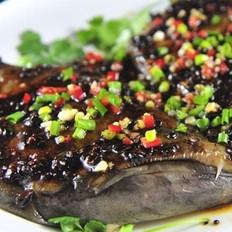 豉汁蒸武昌鱼的做法