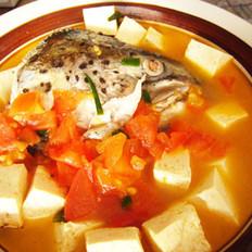 三文鱼头豆腐汤的做法