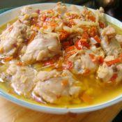 剁椒金针菇蒸鸡翅的做法
