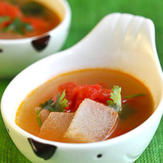 西红柿冬瓜汤的做法