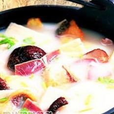 奶汤锅子鱼的做法