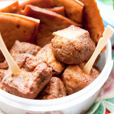 三味豆干的做法