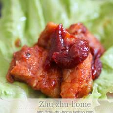 韩国辣酱烤五花肉的做法