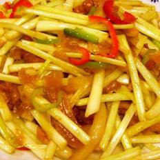清炒韭黄的做法