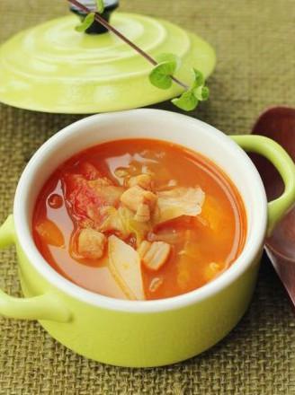 干贝罗宋汤的做法