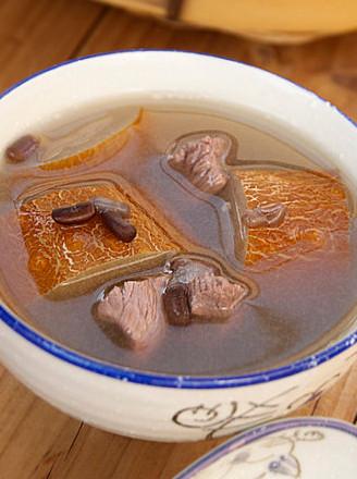 老黄瓜瘦肉汤的做法