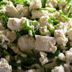 香葱老豆腐