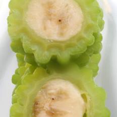 苦瓜酿香蕉的做法