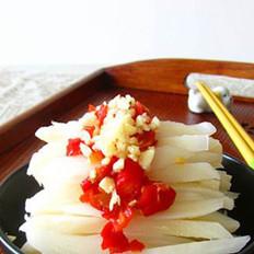 剁椒藕条的做法