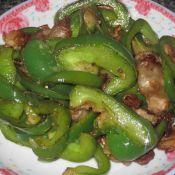 灯笼椒炒肉片