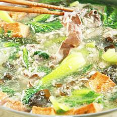 肥牛青菜煲的做法