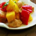 彩椒菠萝鸡丁