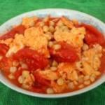 玉米番茄炒鸡蛋的做法