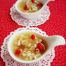 冬瓜薏米糖水的做法