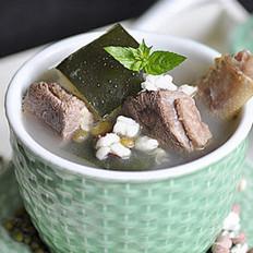 冬瓜綠豆老鴨湯 的做法