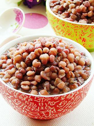 冰糖红豆薏米粥的做法