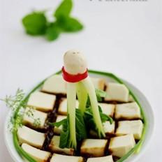 酱拌豆腐的做法