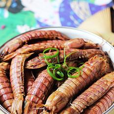 酱炒小爬虾的做法