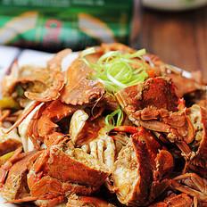 酱炒小螃蟹