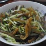 黄瓜拌海茸
