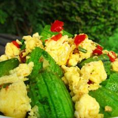 剁椒丝瓜炒蛋的做法