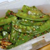 香辣荷兰豆的做法