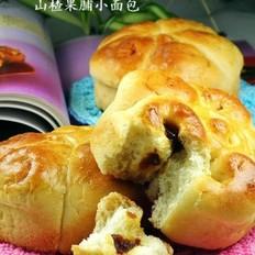 山楂果脯小面包