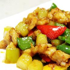 蚝汁鸡肉葫芦丁的做法
