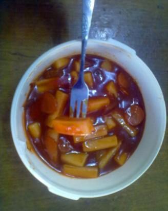 超级韩式炒年糕的做法