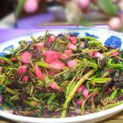 蒜茸苋菜的做法