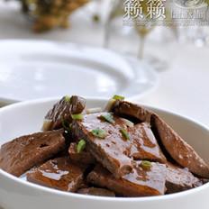 麻油拌卤猪肝的做法