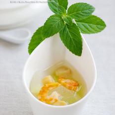 冬瓜鮮貝湯的做法