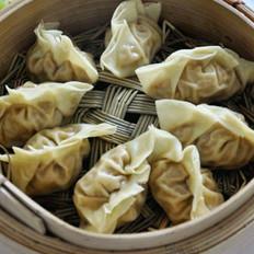 泡菜豆腐蒸饺