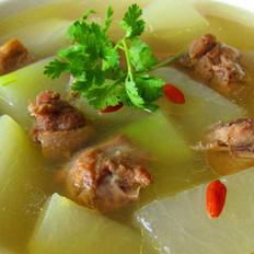 冬瓜老鴨湯的做法