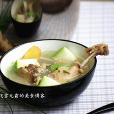 冬瓜鸭汤的做法