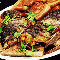 鱼头肥肉泡大饼的做法