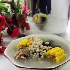 冬瓜薏米猪骨汤 的做法
