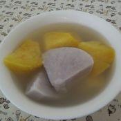 香芋番薯糖水的做法