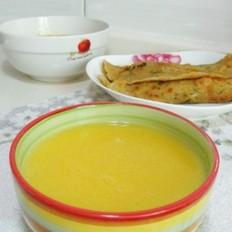 小米南瓜浓汤的做法