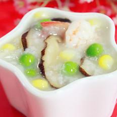 田园鲜虾粥