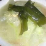 冬瓜海带虾皮汤的做法
