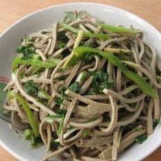 尖椒五香豆腐丝的做法