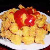 咖喱鸡米花的做法