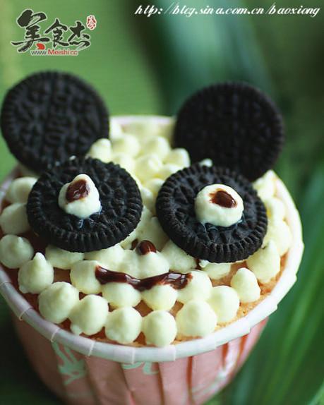 熊猫杯子蛋糕的做法