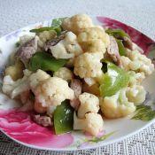 家常菜花炒肉片的做法