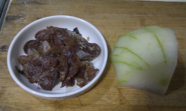 麻辣冬瓜烧牛肉的做法