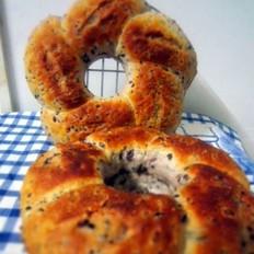 杂锦紫米面包