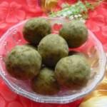 绿豆沙球的做法