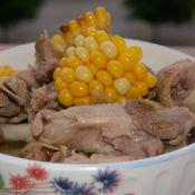 老鸭玉米汤的做法